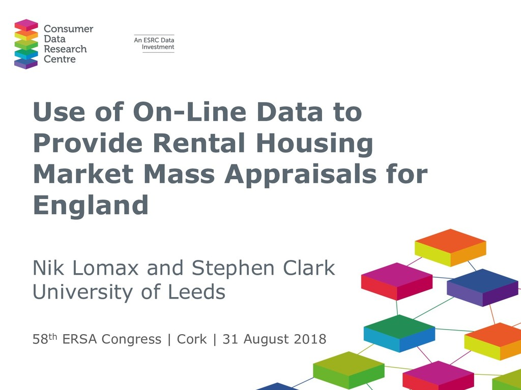 Use of On-Line Data to Provide Rental Housing M...