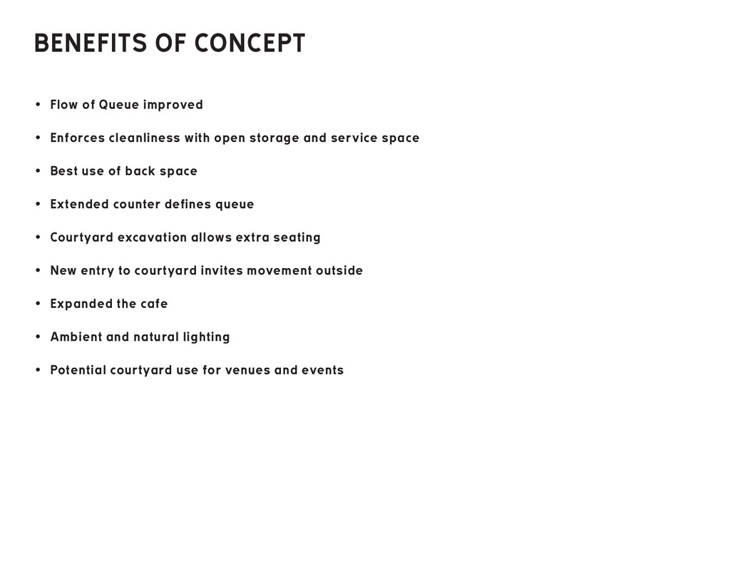 BENEFITS OF CONCEPT • Flow of Queue improved • ...