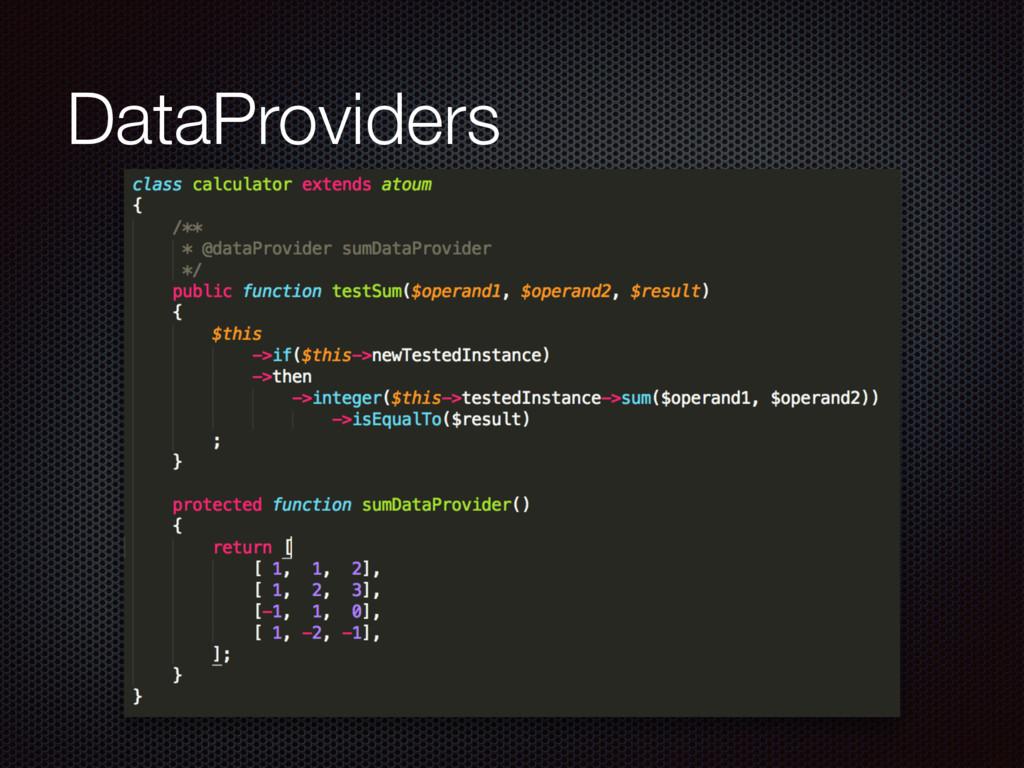 DataProviders
