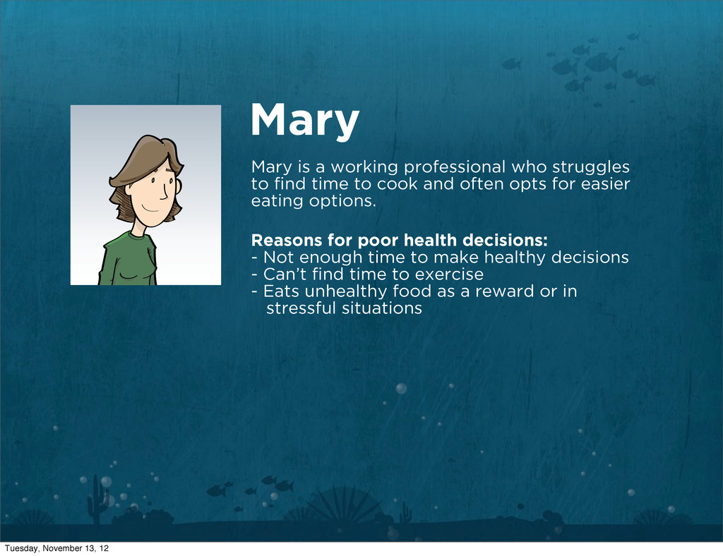 Mary Mary is a working professional who struggl...
