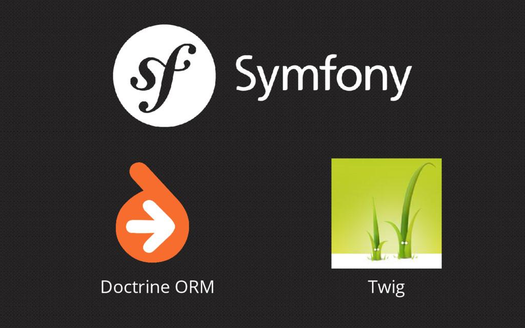 Doctrine ORM Twig