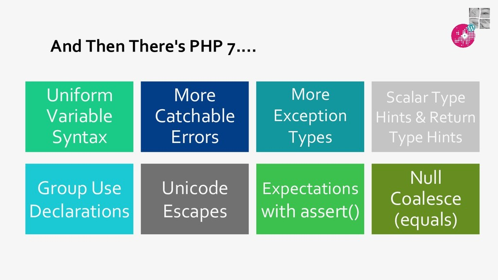 And Then There's PHP 7.... Expectations with as...