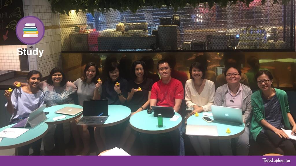 TechLadies.co Study Coding Weekend Tech Talks B...