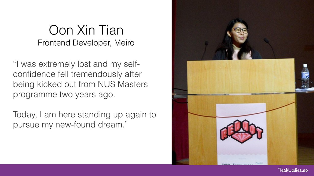 """TechLadies.co """"I was extremely lost and my self..."""