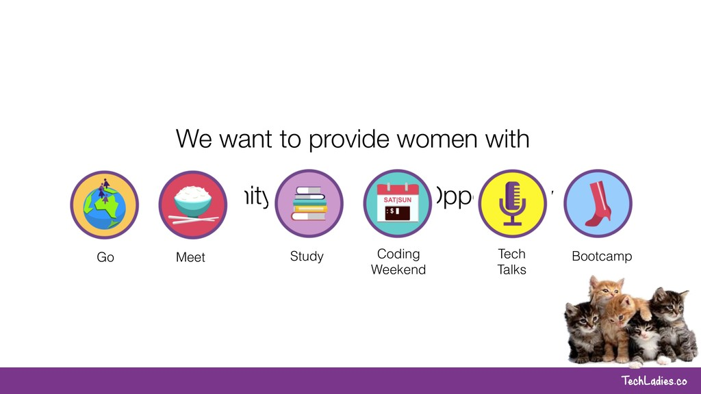 TechLadies.co We want to provide women with Com...