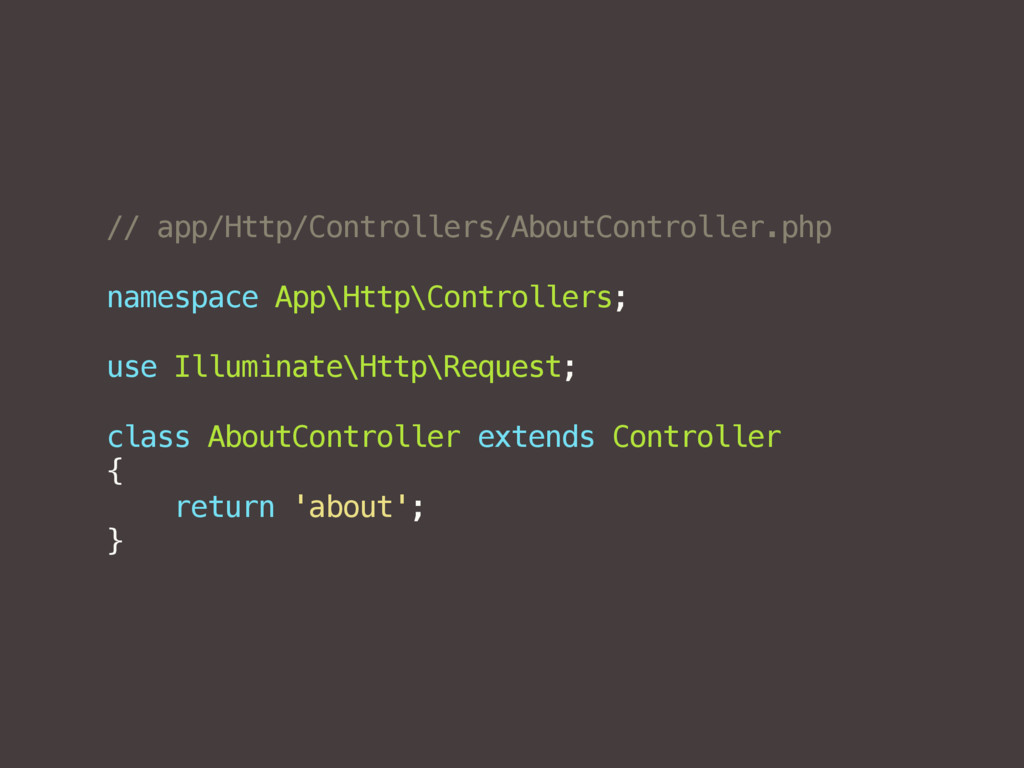 // app/Http/Controllers/AboutController.php nam...