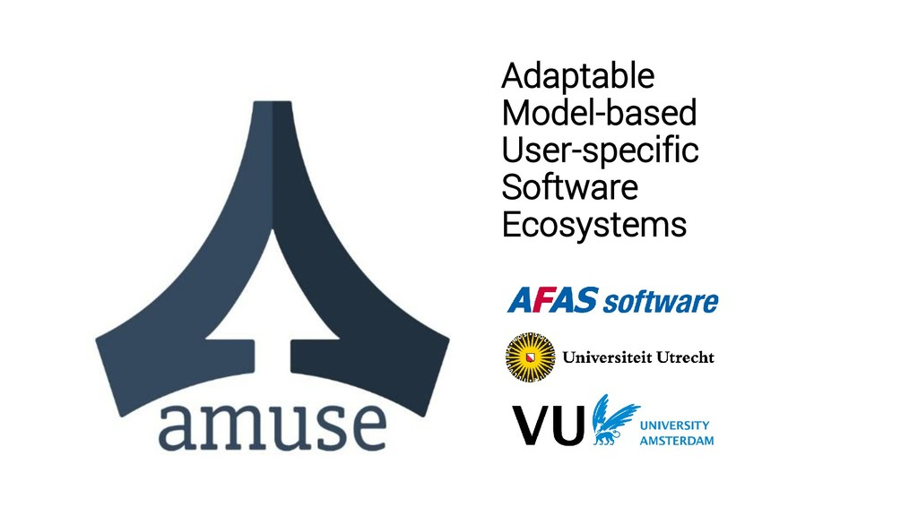 Adaptable Model-based User-specific Software Ec...