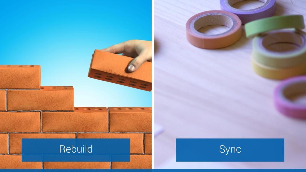 Rebuild Sync