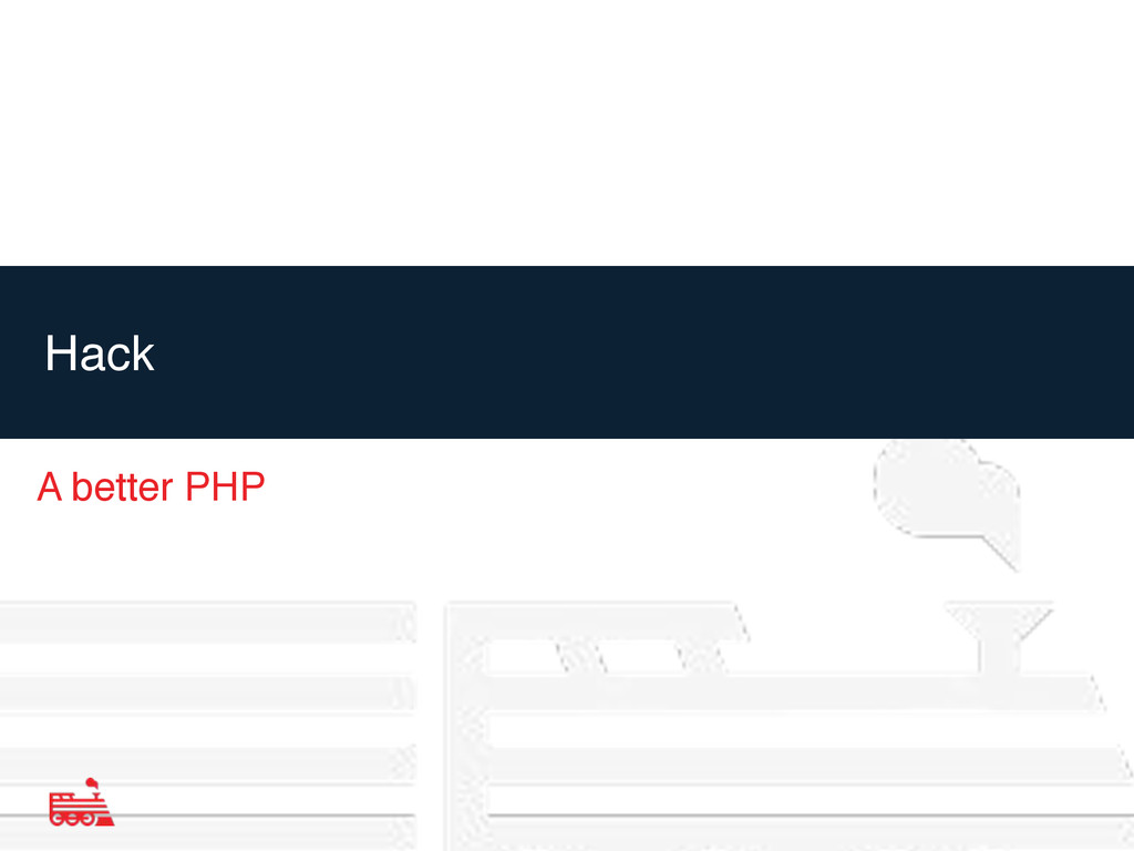 Hack A better PHP