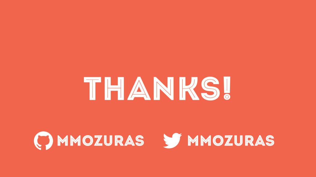 THANKS! MMOZURAS MMOZURAS
