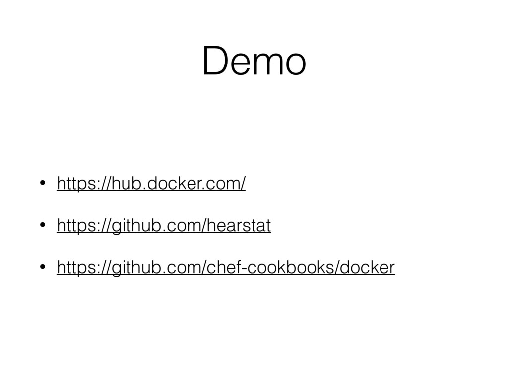 Demo • https://hub.docker.com/ • https://github...