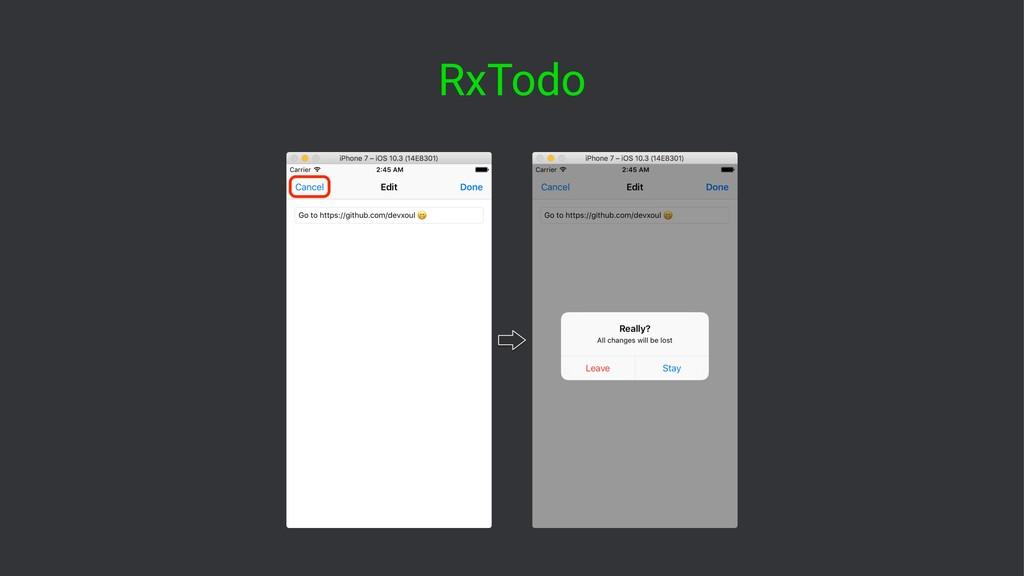 RxTodo