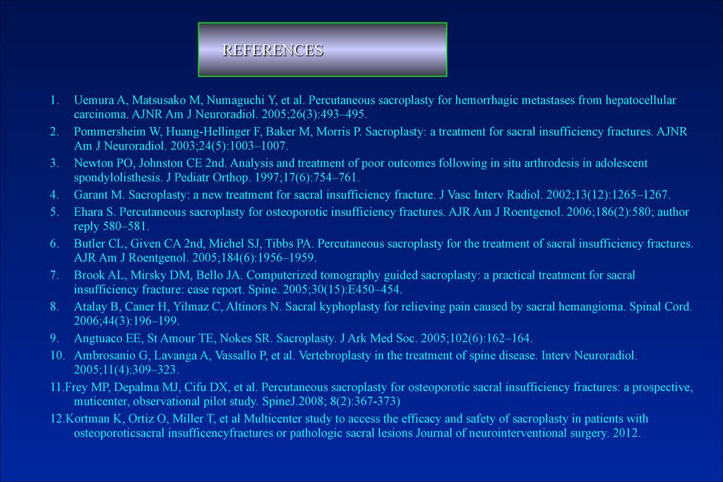 1. Uemura A, Matsusako M, Numaguchi Y, et al. P...