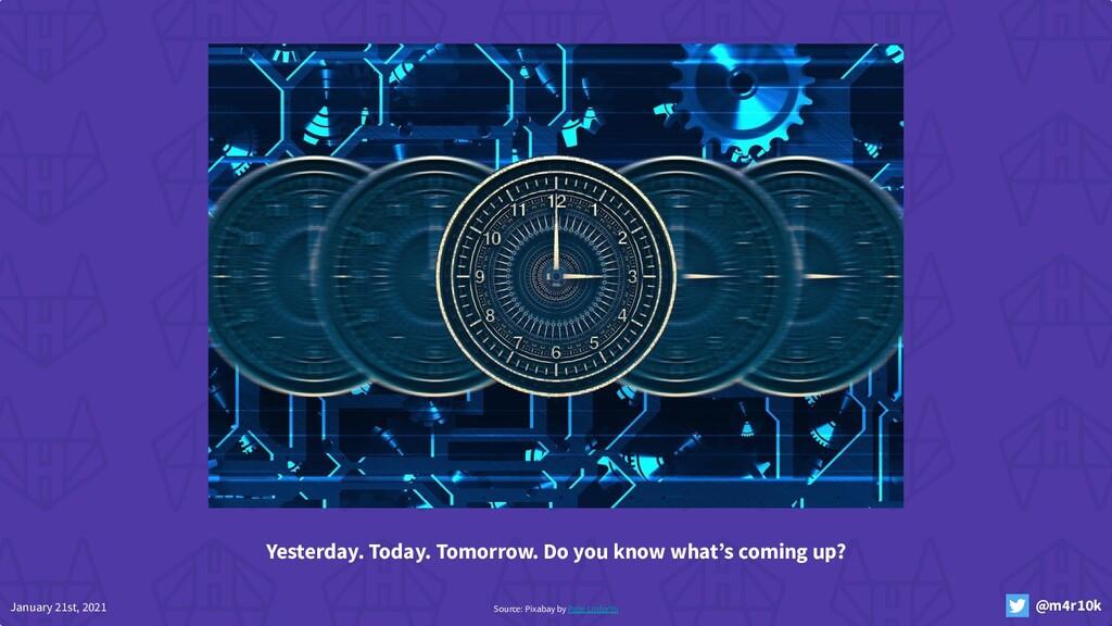January 21st, 2021 @m4r10k Source: Pixabay by P...