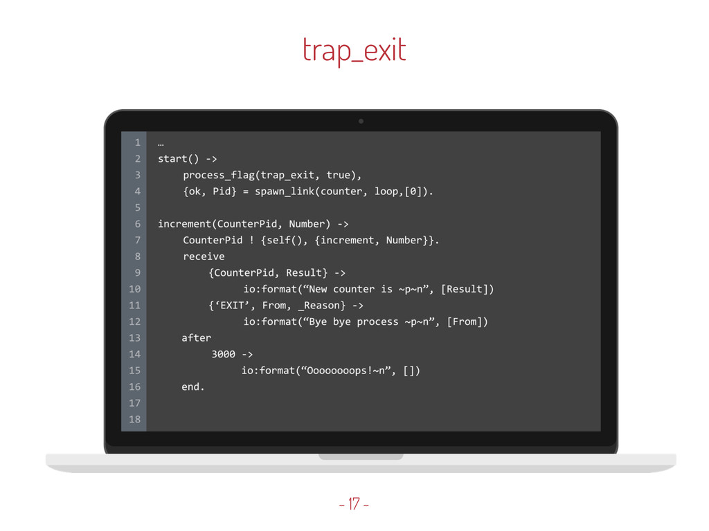 trap_exit - 17 -