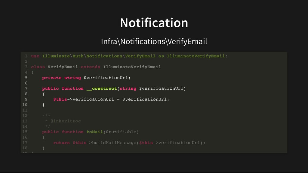 Notification Infra\Notifications\VerifyEmail us...