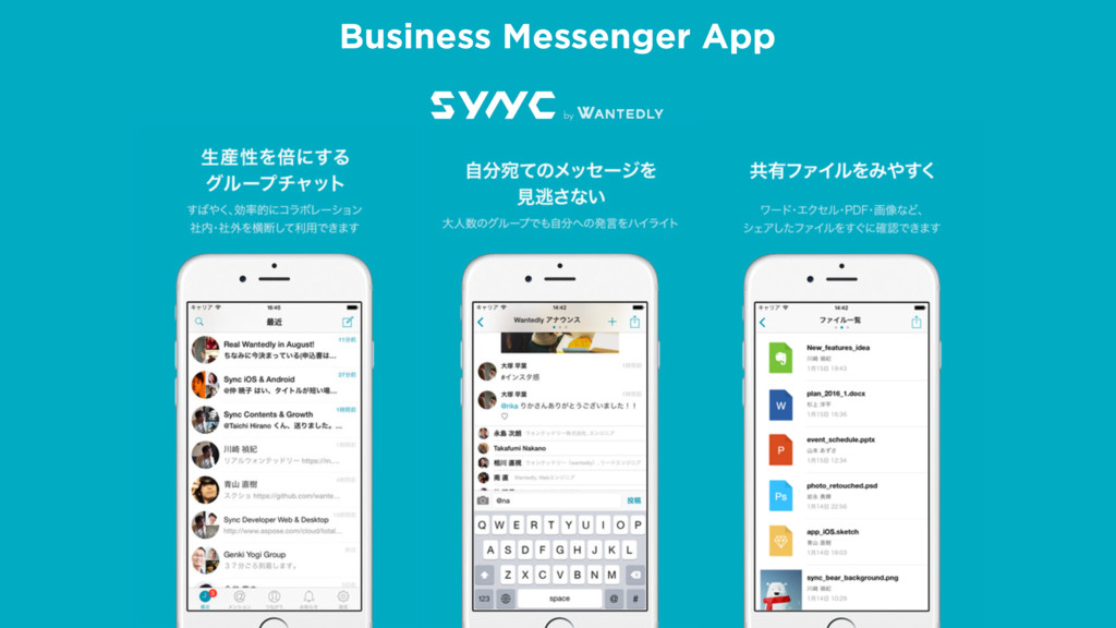 γΰτͰίίϩΦυϧ Open API Business Messenger App