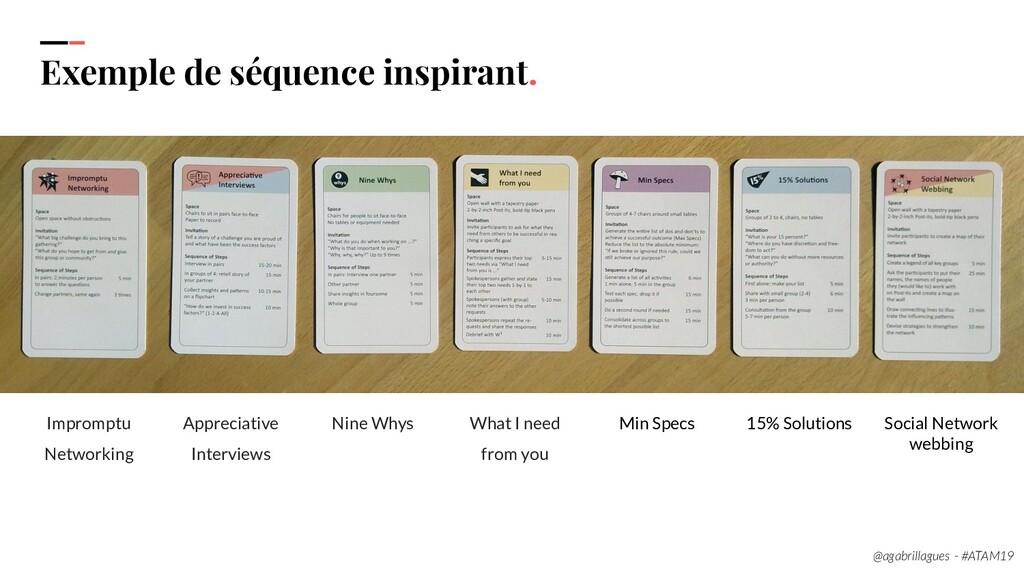 106 Exemple de séquence inspirant. Impromptu Ne...