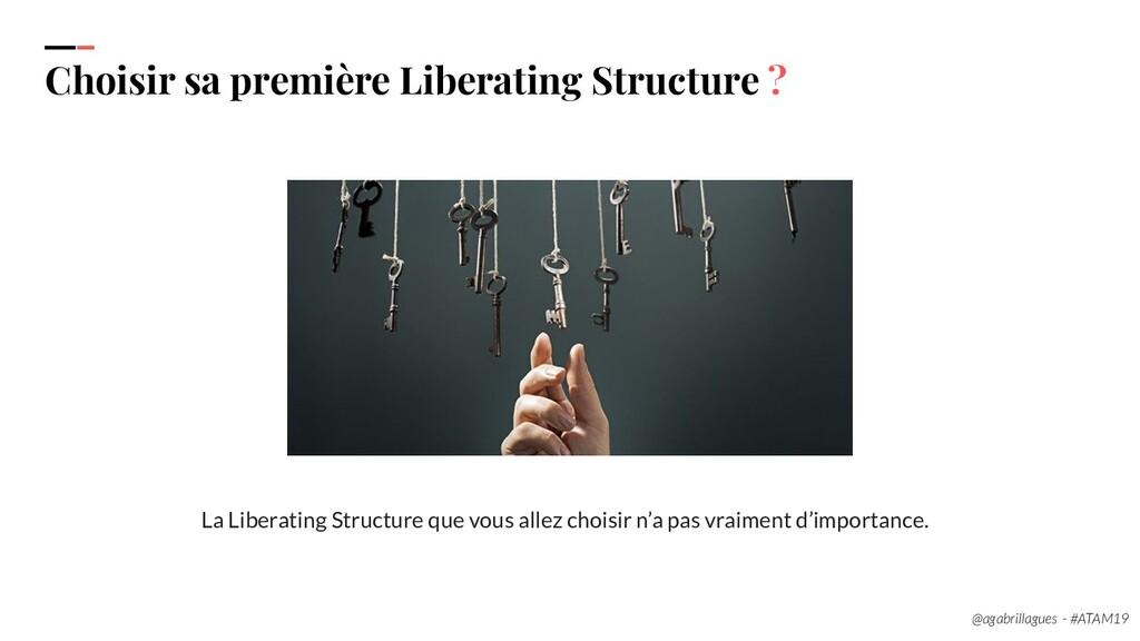 36. Choisir sa première Liberating Structure ? ...