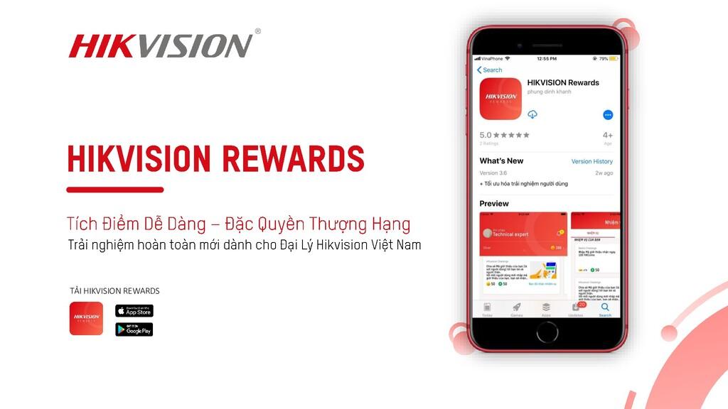 TẢI HIKVISION REWARDS