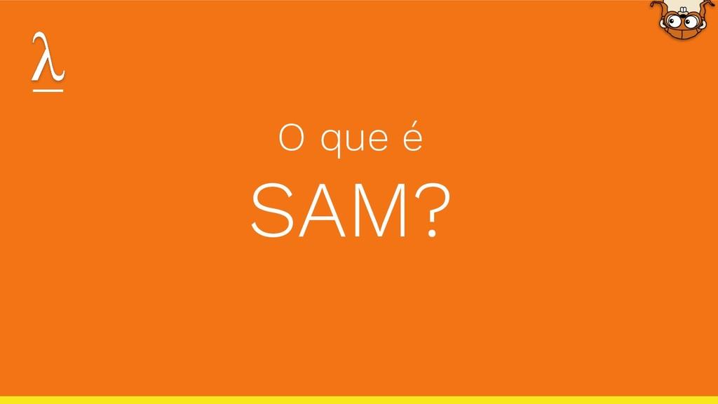 O que é SAM?