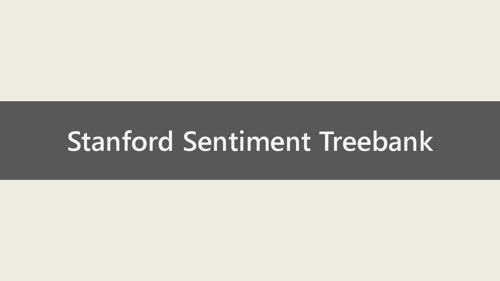 Stanford Sentiment Treebank