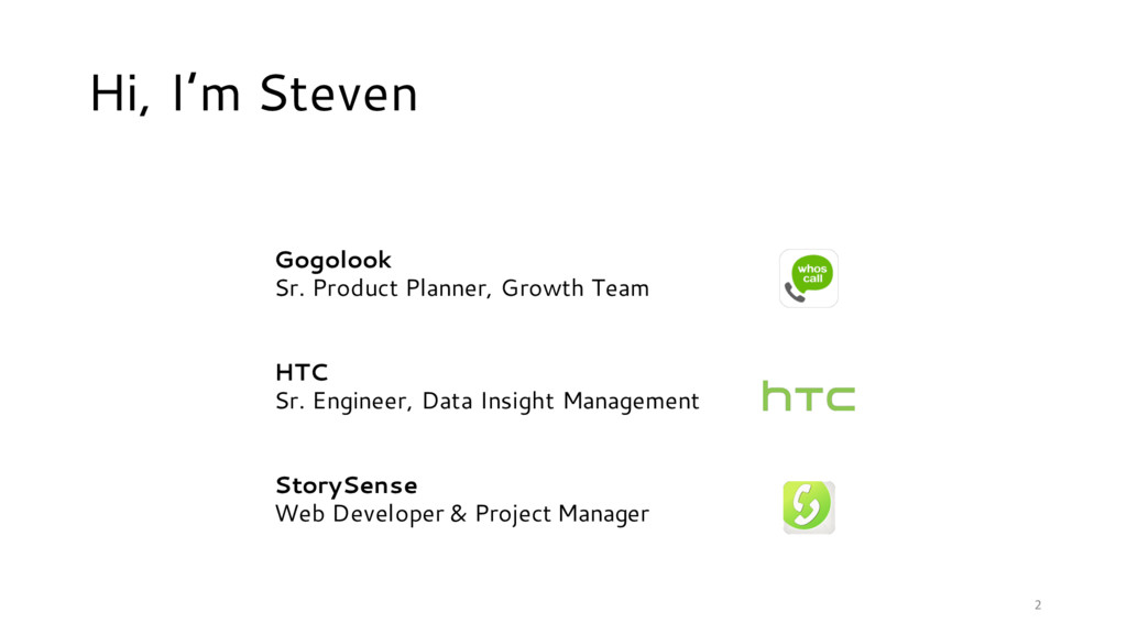 Gogolook Sr. Product Planner, Growth Team HTC S...