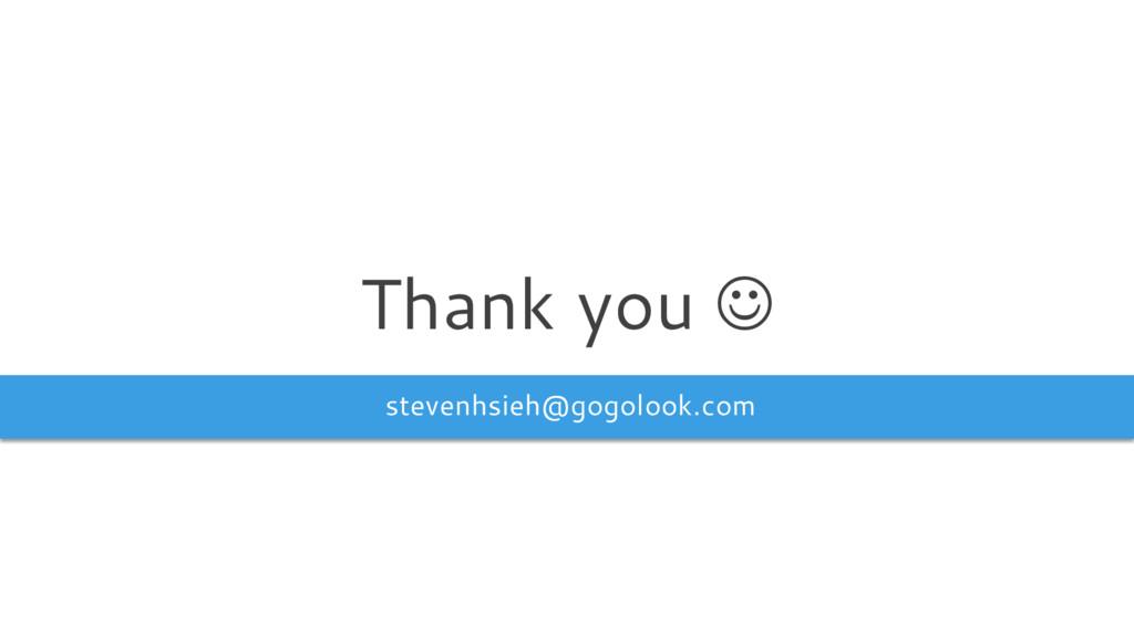 stevenhsieh@gogolook.com Thank you J