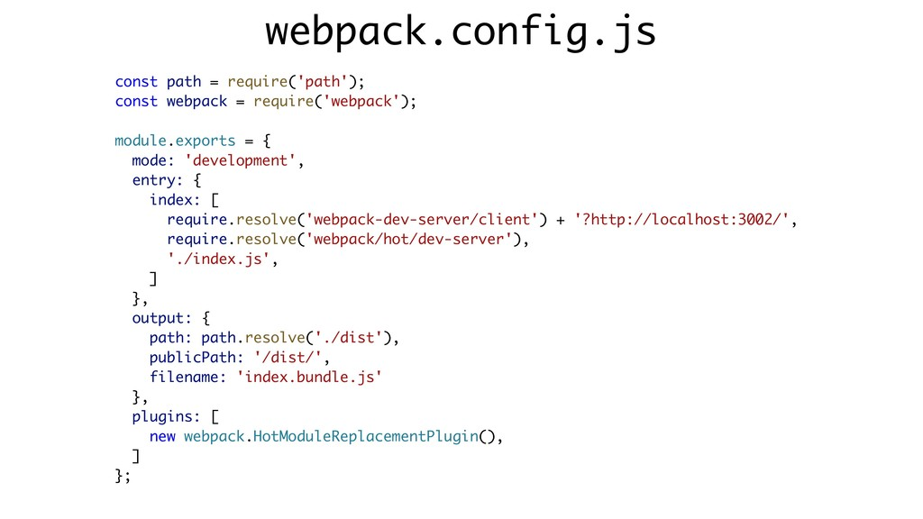 const path = require('path'); const webpack = r...