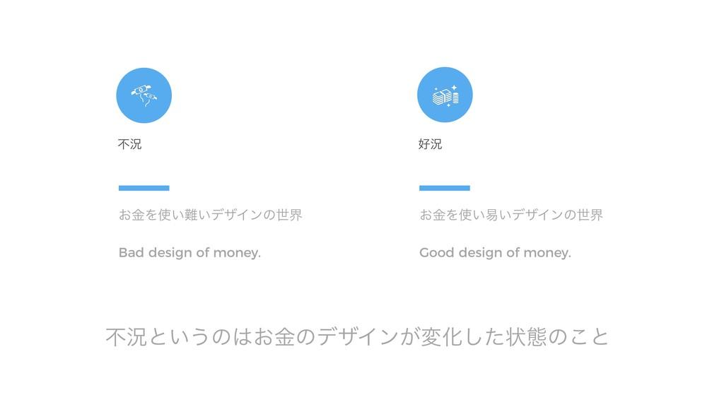 ෆگ ͓ۚΛ͍͍σβΠϯͷੈք Bad design of money. گ ͓ۚΛ͍...