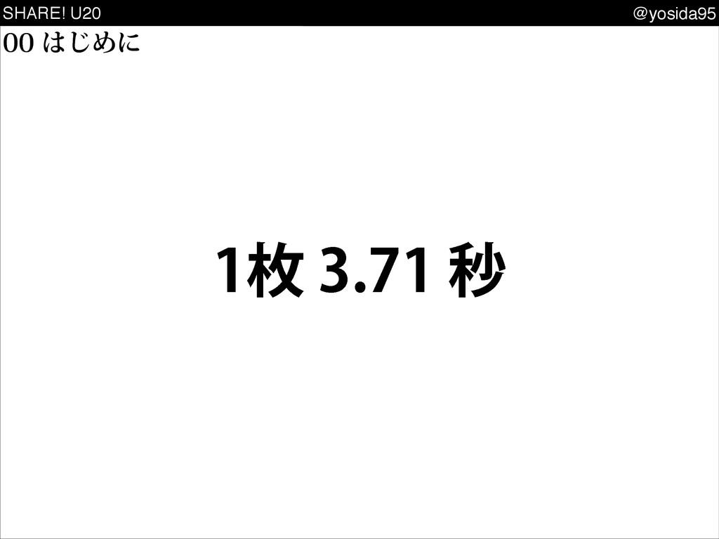 SHARE! U20 @yosida95 ຕඵ ͡Ίʹ