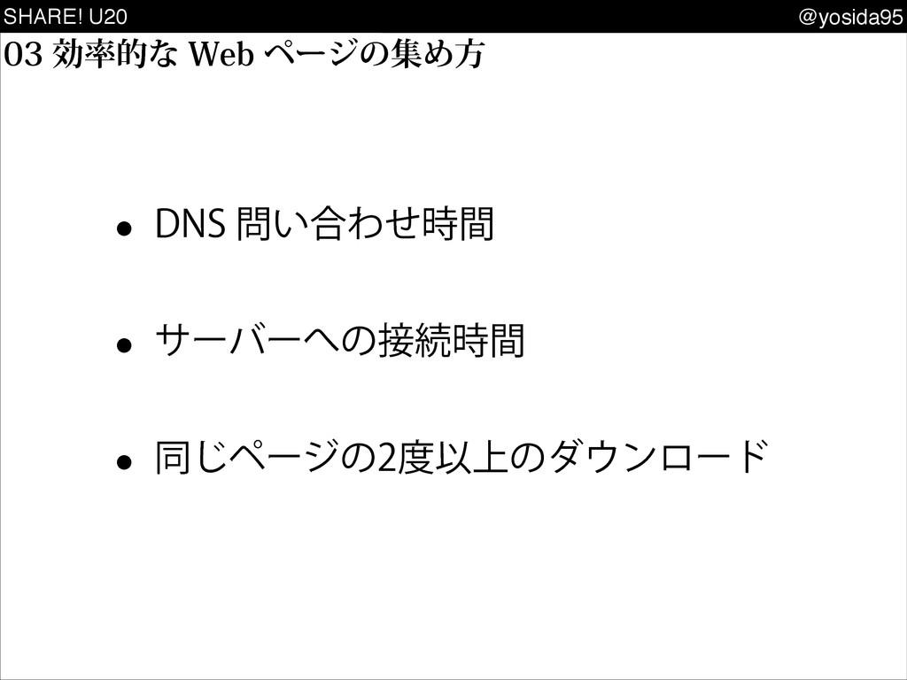SHARE! U20 @yosida95 w %/4͍߹Θͤؒ w αʔόʔͷଓ...