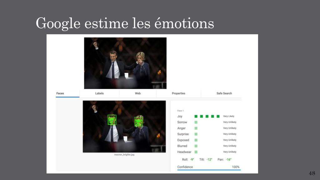 48 Google estime les émotions