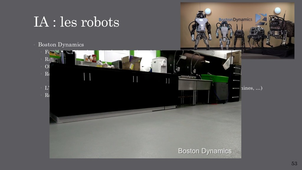 • Boston Dynamics – Fondé en 1992, subventionn...