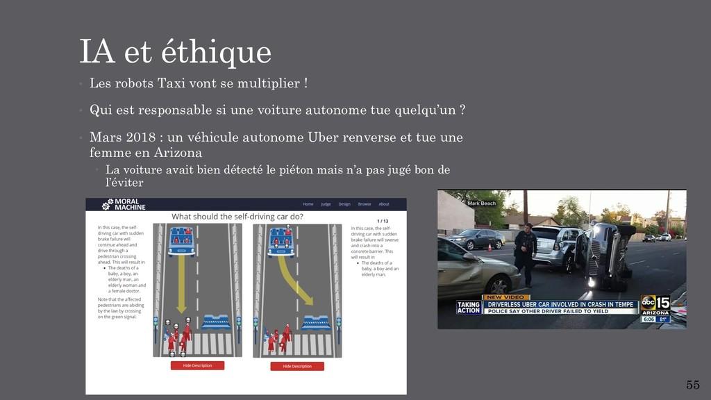 • Les robots Taxi vont se multiplier ! • Qui es...