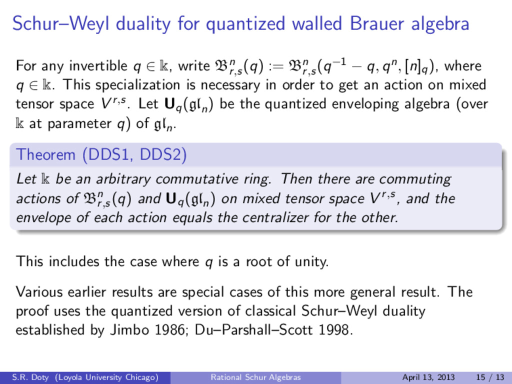 Schur–Weyl duality for quantized walled Brauer ...