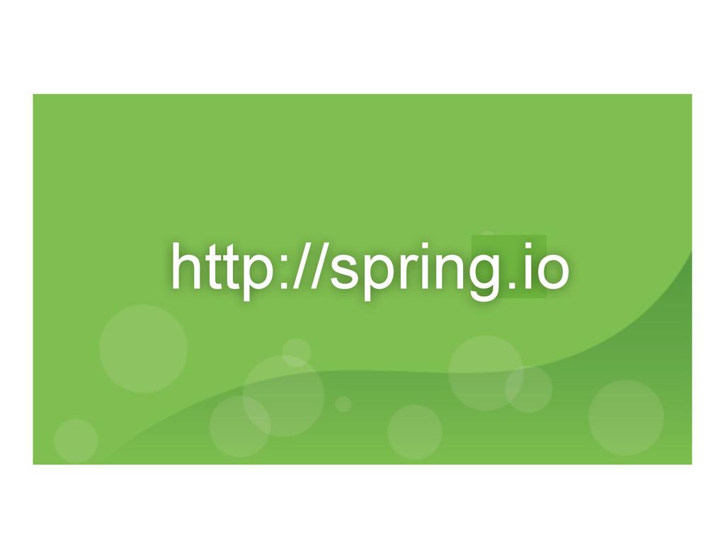 http://spring.io