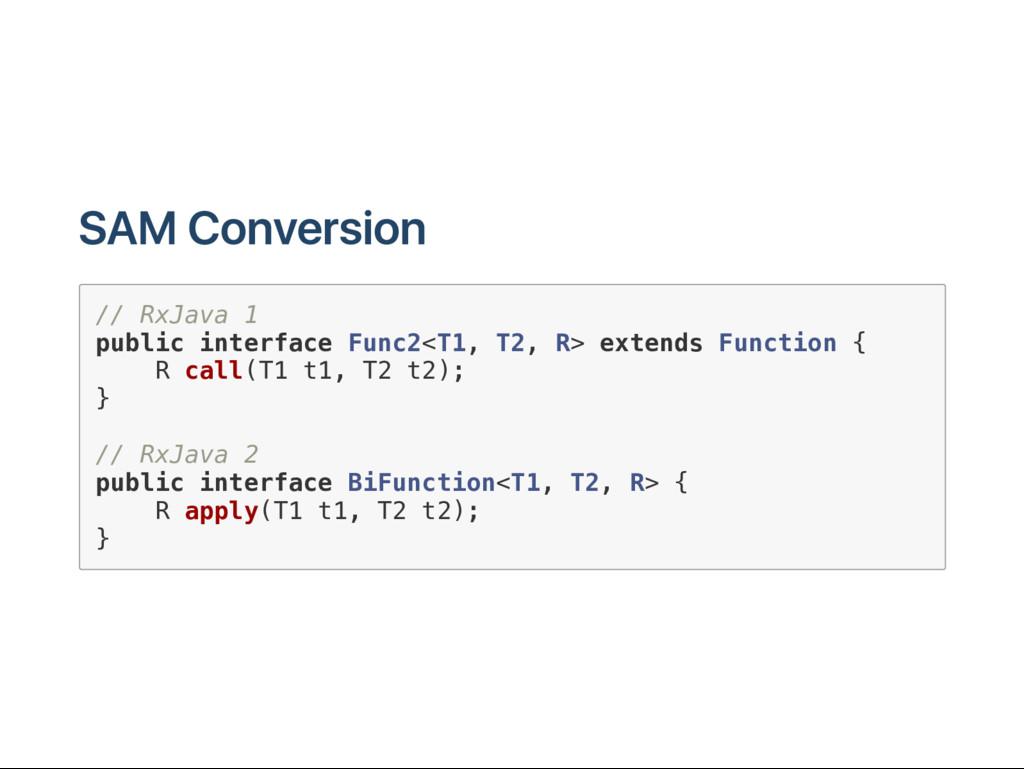 SAM C onversion / / R x J a v a 1 p u b l i c i...