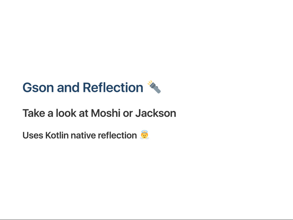G son and R eflection T ake a look at M oshi or...