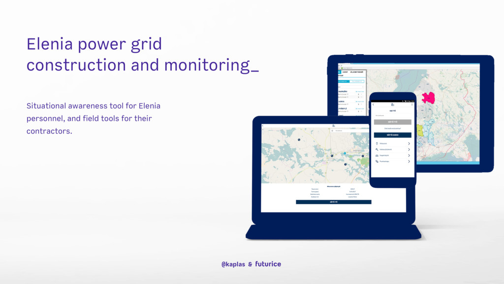 Elenia power grid construction and monitoring_ ...