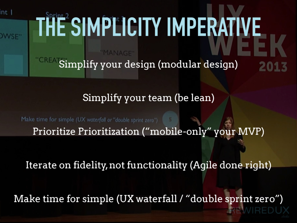 THE SIMPLICITY IMPERATIVE Simplify your team (b...