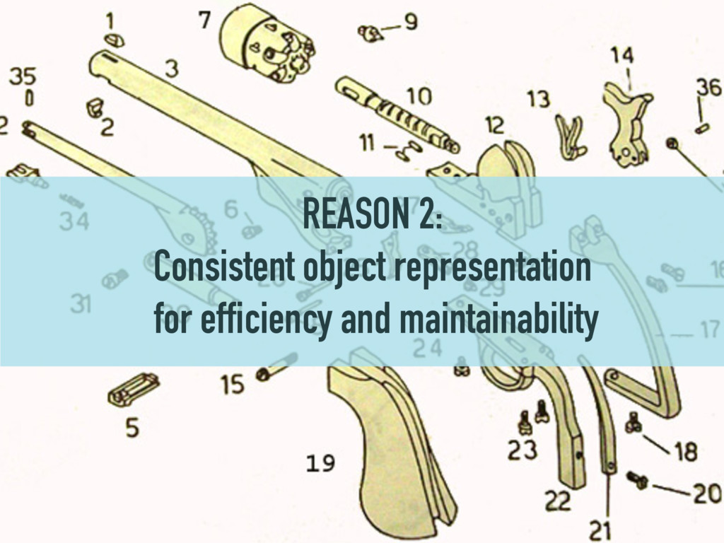 REASON 2: Consistent object representation for ...