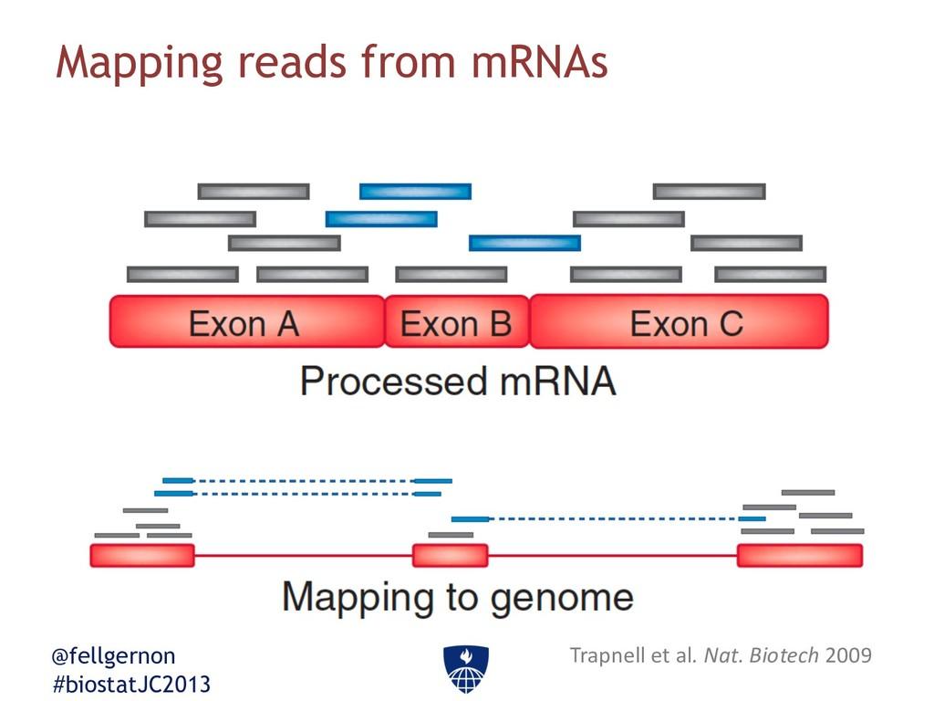 @fellgernon #biostatJC2013 Mapping reads from m...