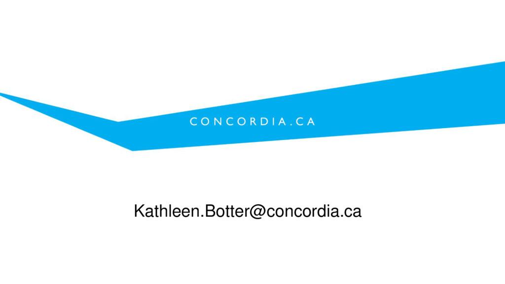 Kathleen.Botter@concordia.ca