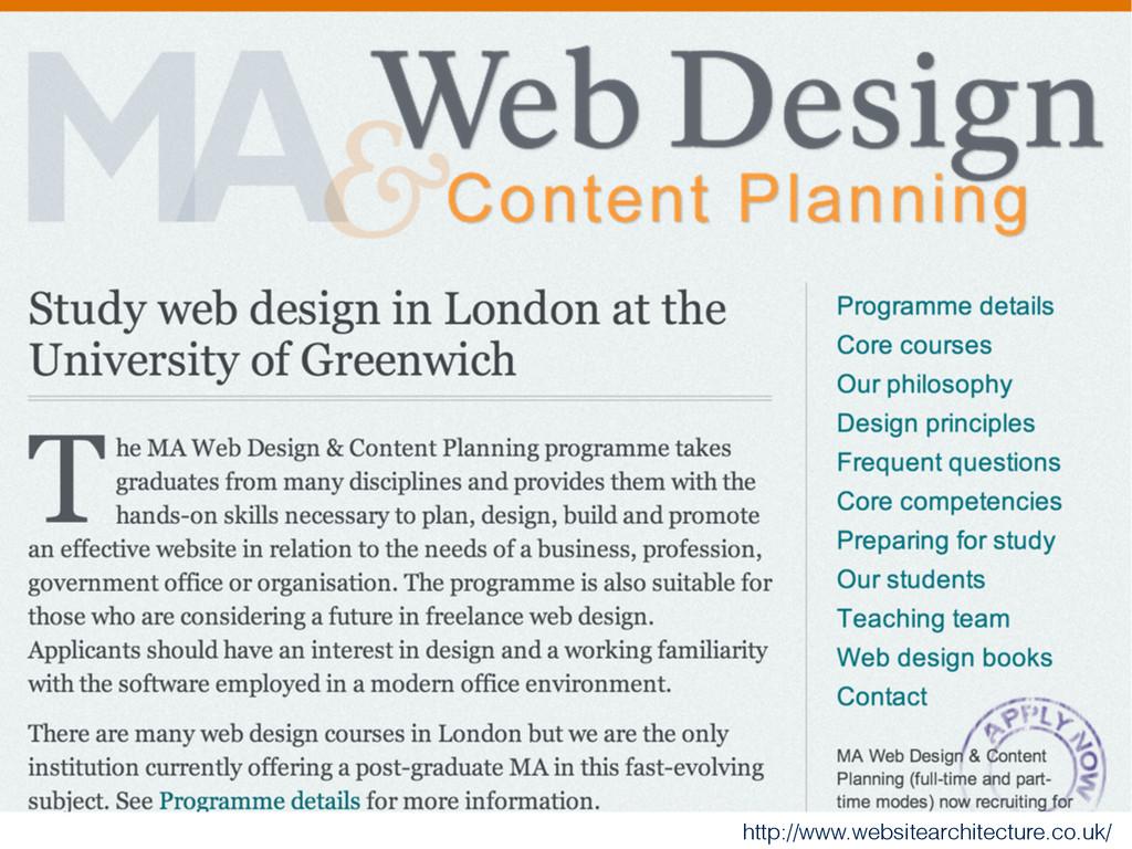 http://www.websitearchitecture.co.uk/
