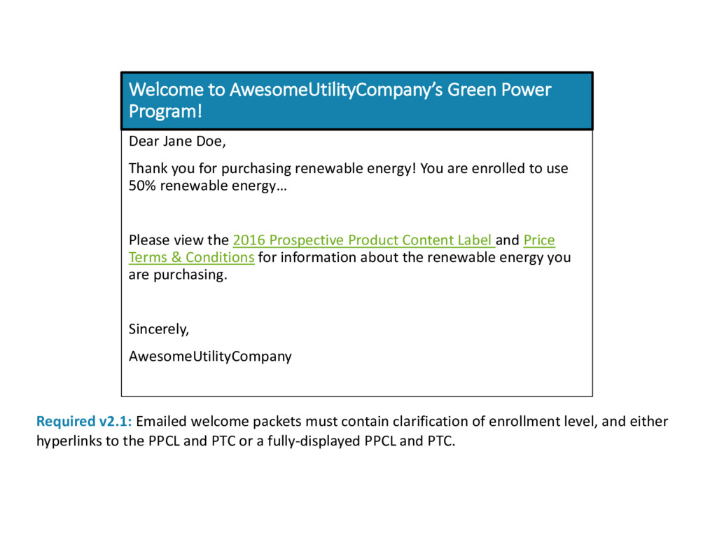 Welcome to AwesomeUtilityCompany's Green Power ...