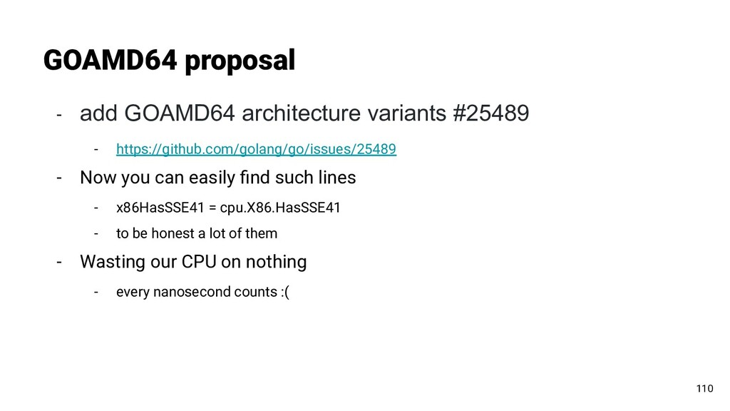 - add GOAMD64 architecture variants #25489 - ht...