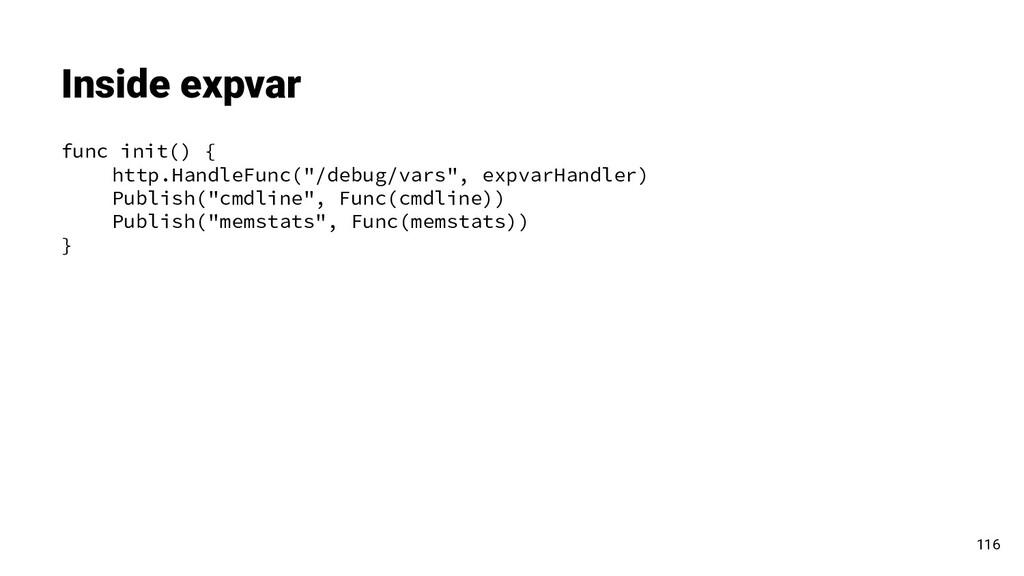 "func init() { http.HandleFunc(""/debug/vars"", ex..."