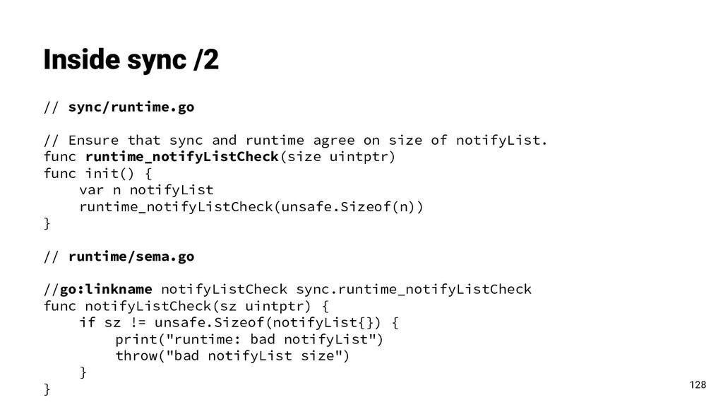 Inside sync /2 // sync/runtime.go // Ensure tha...