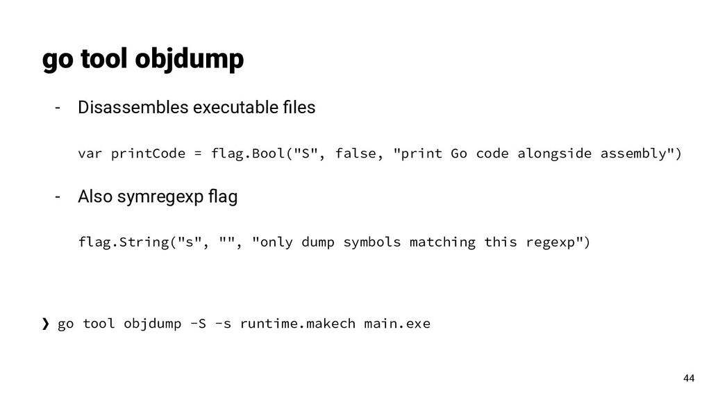 - Disassembles executable files var printCode = ...
